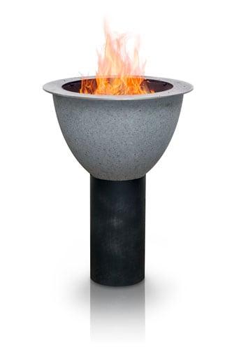 feuerei mit Flammen - die etwas andere Feuerschale